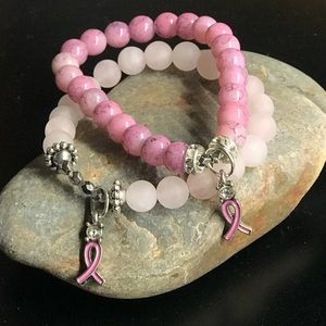 Jewelry - Breast Cancer Awareness/Survivor Bracelet